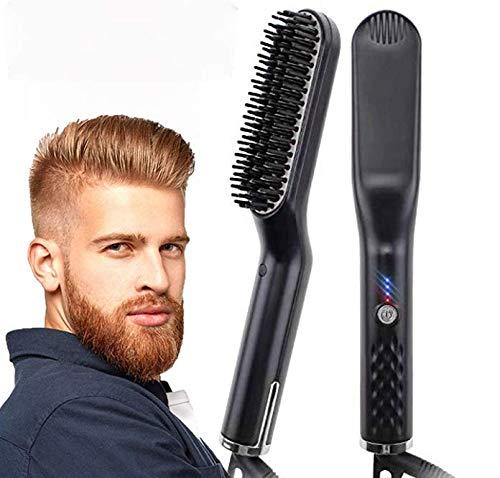 Beard Straightener Brush Portable Straightening