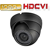 Ezdiyworld-HD-CVI1080p 2.4mp Motorized Zoom Auto Focus 2.8-12 Vf Dome Camera Sony Cmos Gray Color