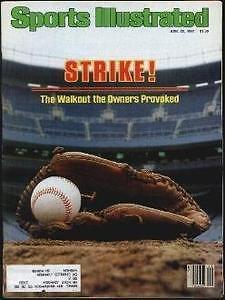(1981 Yankee Stadium Baseball Strike Sports Illustrated)