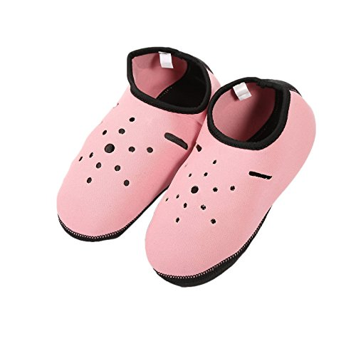 Socks fibgihc Surfing Diving Swim Nylon Material Scuba Sided Nonslip Snorkeling SCR Pink q7vFpRq