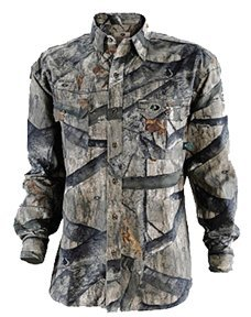 Russell Outdoors Men's Explorer Long Sleeve Shirt, Mossy Oak Infinity, Small ()