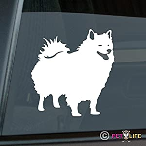 Mister Petlife American Eskimo Sticker Vinyl Auto Window eskie 17