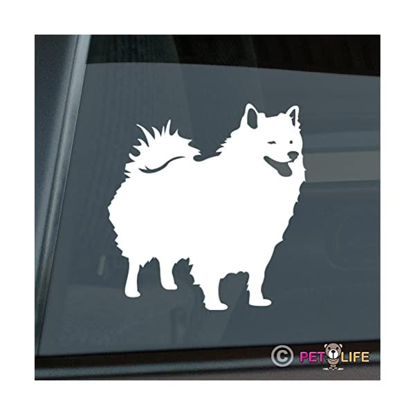 Mister Petlife American Eskimo Sticker Vinyl Auto Window eskie 1