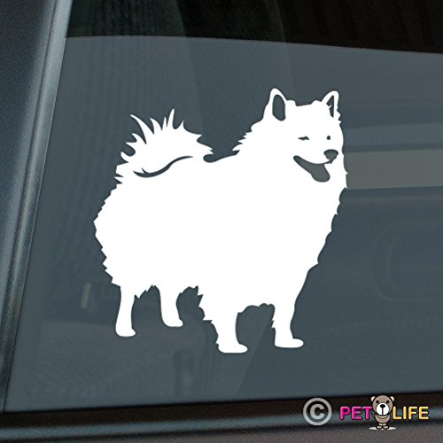 American Eskimo Sticker Vinyl Auto Window eskie American Eskimo Dog Sticker