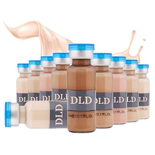 10 paket 5 ml BB Creme Weiß Whitening Serum Natürliche Naked Make Up Foundation Verwenden für (MTS) (# 4-10 Flaschen)