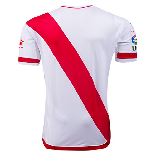 fan products of Rayo Vallecano 2015/16 Home Soccer Adult Football Jersey
