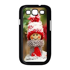 Samsung Galaxy S3 9300 Cell Phone Case Black Winter dolls D8Y8OH