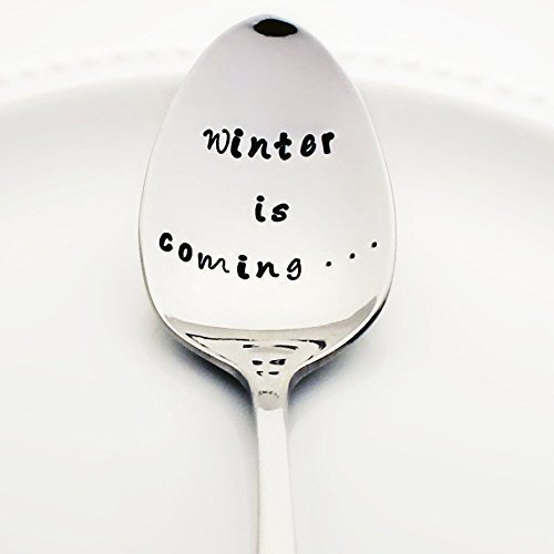 Game of Thrones: Winter is Coming ... - Stamped Spoon, Stamped Silverware - Geek Kitchen (World Book Day Costume Ideas 2016)