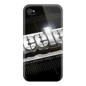 Iphone 4/4s Cases, Premium Protective Cases With Awesome Look - Pittsburgh Steelers