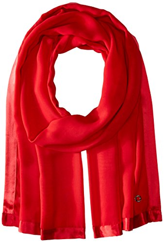 Calvin Klein Satin Edge Wrap Scarf Accessory