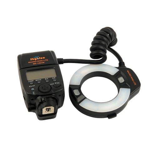 Meike MK-14EXM LED Macro Ring Flash For Nikon D7000 D3000 D90 D80 AF assist lamp