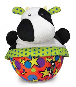 Amazing Baby Roly Poly Cow Chime (Chime Poly Roly Ball)