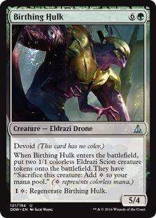 Magic: the Gathering - Birthing Hulk (121/184) - Oath of the Gatewatch