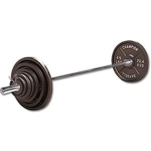 Champion Barbell 300 Lb. Olympic-Style Economy Set