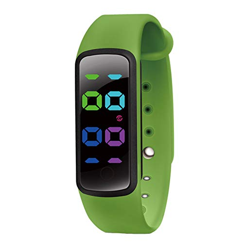 Smart Bracelet U6-C Waterproof Wrist Band 3-color LED Display Activity Tracker Sports Fashion Reminder Music TPU Strap…