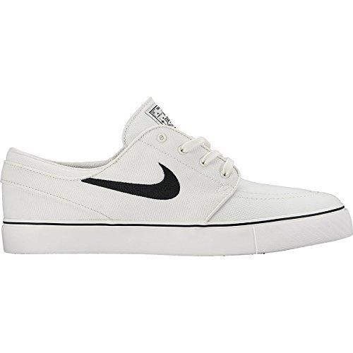 Nike Men's Zoom Stefan Janoski Cnvs Drk Gry/White/Gm Lght Brwn/Mtl Skate Shoe 11 Men US
