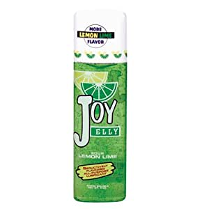 Doc Johnson Joy Jelly Flavored Water Based Lubricant, Lemon Lime, 4 Ounce