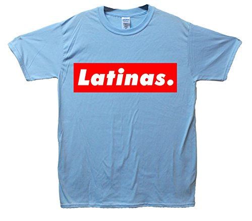 Latinas. T-Shirt - SkyBlau - Small (86cm-91cm)