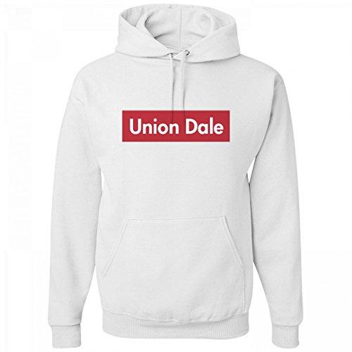 Comfy Union Dale Supreme Pride: Unisex Jerzees Heavyweight Hoodie
