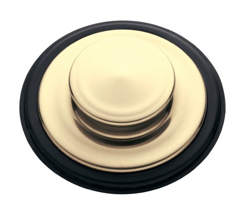 InSinkErator  STP-FG Sink Stopper for Garbage Disposals, French Gold - French Gold Drain Finish