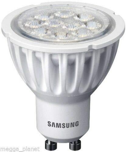 5 x Samsung Reflector LED PAR16/GU10 40 grados ángulo de haz ...