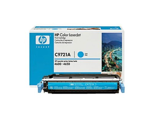 Genuine HP Color Laserjet 4600, 4650 Series - C9721A (Cyan)