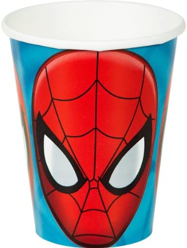 Spiderman Paper Cups