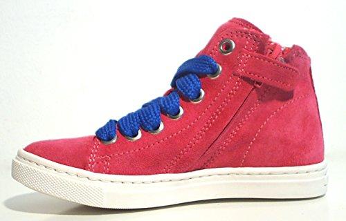HIP ® High Top Sneaker Halbschuhe Reißverschluss pink