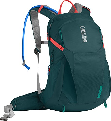 CamelBak Women's Helena 20 Crux Reservoir Hydration Pack, Deep Teal/Hot Coral, 2.5 L/85 oz ()