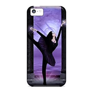 Durable Defender Case For Iphone 5c Tpu Cover(the Last Dancer)
