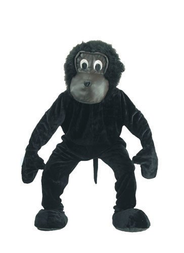 Kids Scary Gorilla Costumes (Scary Gorilla Mascot Costume Set - kids size Large (12-14))