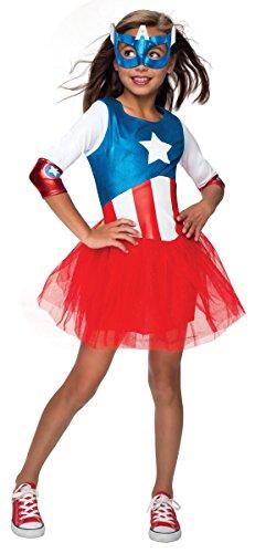 Captain America Halloween Costumes Toddler (Rubie's Costume Marvel American Dream Metallic Costume, Toddler)