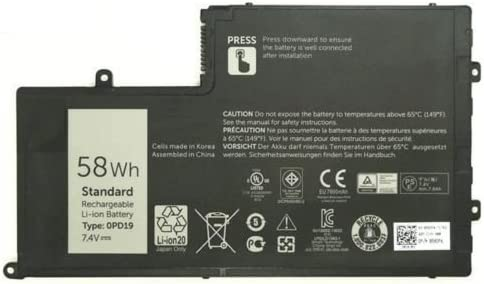 New Genuine Dell Inspiron 58WH 7.4V Battery VPH5X 0VPH5X