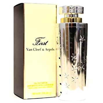 First By Van Cleef Arpels For Women. Eau De Parfum Spray 3.0 Oz Refillable