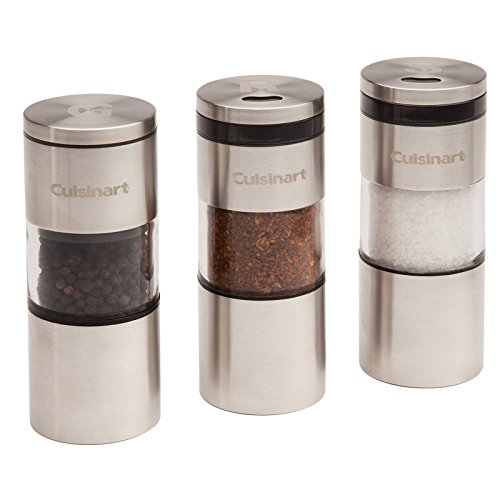 Cuisinart CSS-33 Magnetic Grilling Spice Set, - Set Shaker Magnetic
