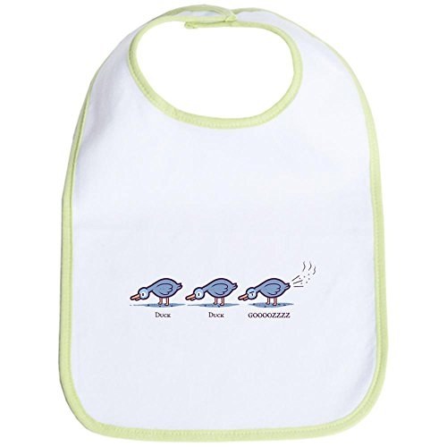 (CafePress - Duck Duck Gooz Bib - Cute Cloth Baby Bib, Toddler Bib)