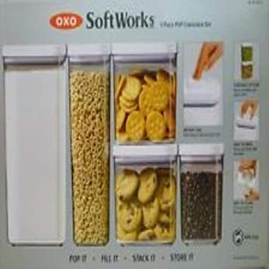 OXO Soft Works: 5 Piece POP Container Set ~ BPA Free by OXO