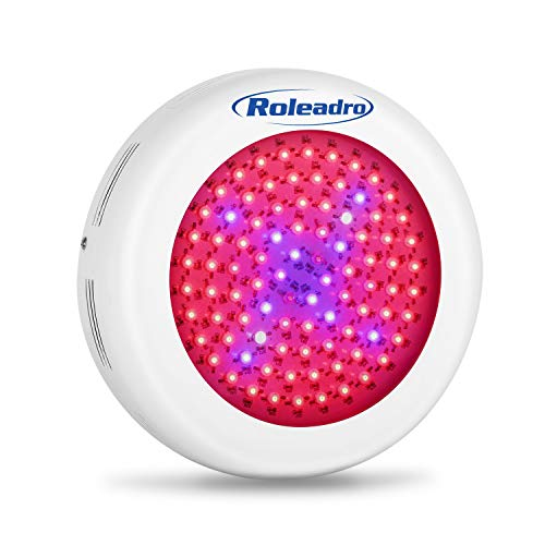 Roleadro LED Grow Light, UFO Series 600W LED Plant Grow Light with Red and Blue Spectrum Grow Lamp for Indoor Patio, Garden Plant, Hydroponic, Germination, Veg, Flower