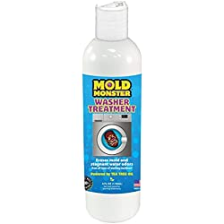 Mold Monster Washer Treatment - Washing Machine & Dishwasher Cleansing Solution - Erases Mold and the Stench of Stagnant Water - 2 Month Supply - Tea Tree Oil Solution - 4oz.