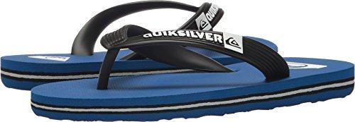 Quiksilver Boys' Molokai Youth Sandal, Blue/Black, 6 M US Bi
