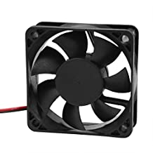 SODIAL(R) DC 12V 2Pins Cooling Fan 60mm x 15mm for PC Computer Case CPU Cooler