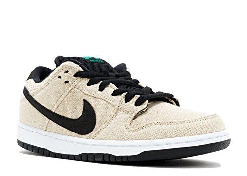 Nike Dunk Low Premium SB, Zapatillas de Deporte para Hombre, Beige (Bamboo/Black-White), 36 EU