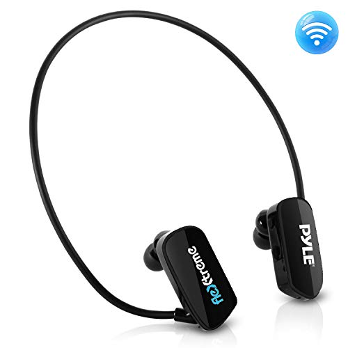 Pyle MP3 Player Bluetooth Headphone - Waterproof Swim IPX8 F