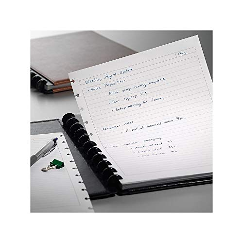 """Staples? Arc Notebook Filler Paper, Letter-Size, Narrow-Ruled, White, 8 1/2"""" x 11"""", 50 Sheets"""