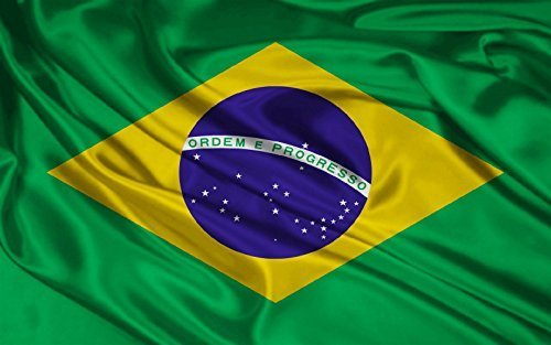 3Ftx5Ft Brazil Flag Brazilian Football & Sports Banner 90X150Cm by F I