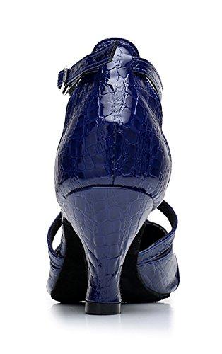 TDA - Sandalias con cuña mujer 6cm Heel Blue