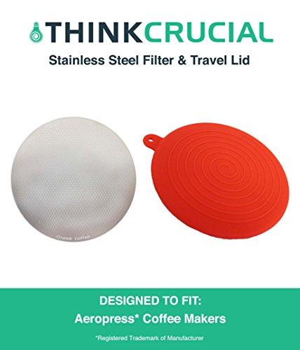 replacement aeropress filter cap - 5
