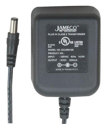 Jameco Reliapro DCU060120G2401 AC to DC Wall Adapter, Tra...