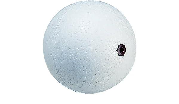 Fominaya b2 - Boya esfera para flotador 1/2 poliestireno expandido blanco: Amazon.es: Bricolaje y herramientas