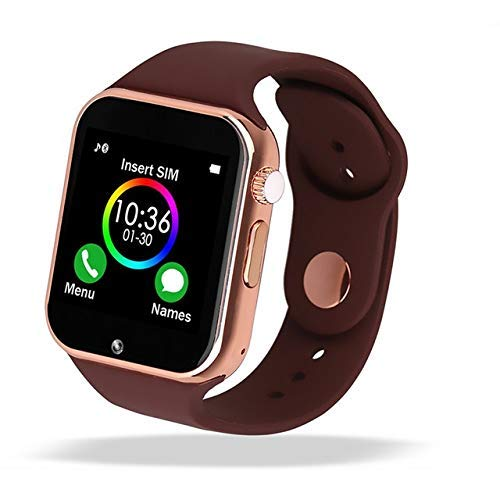 Smart Watch - 321OU Fitness Tracker Bluetooth Smart Watch Smartwatch Phone Fitness Tracker SIM SD Card Slot Camera Pedometer iPhone iOS Samsung LG ...